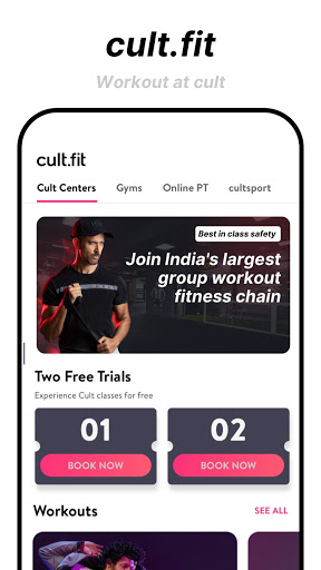 cure.fit Fitness, Meditation, Healthy food, Doctor 8.70 Screenshots 2