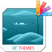 Winter Fishing Xperia Theme
