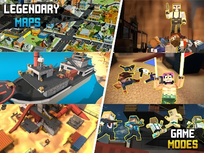 Pixel Fury: Multiplayer in 3D Mod Apk (God Mode + One Shot Kill) 7