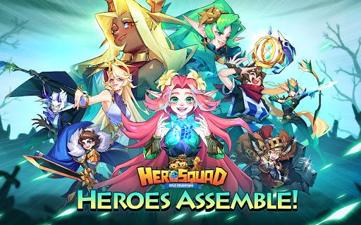 Hero Squad - Idle Adventure  screenshots 7