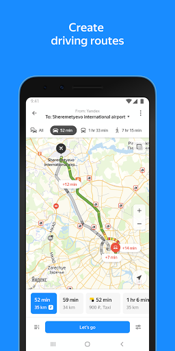 Download APK: Yandex.Maps – Transport, Navigation, City Guide v10.4.1 [Mod]