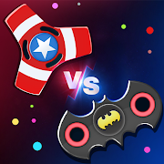 Fidget Spinner .io Realtime Multiplayer Battles