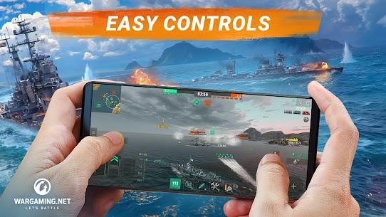 Free World of Warships Blitz  Gunship Action War Game NEW 2021 **** 1