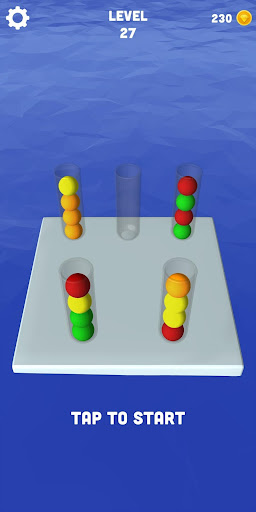 Sort Balls 3D - Free puzzle games 1.1.3 screenshots 3