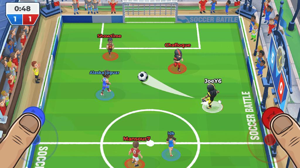 Soccer Battle - 3v3 PvP poster 9