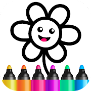 Toddler Drawing Academy! Coloring Games for Kids!