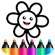 Bini Toddler Drawing Apps! Coloring Games for Kids Apk