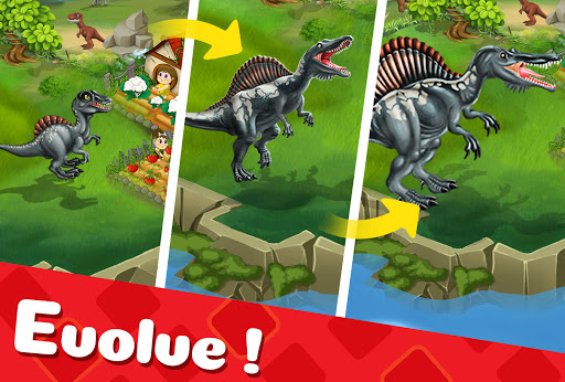 DINO WORLD - Jurassic dinosaur game Apkfinish screenshots 9