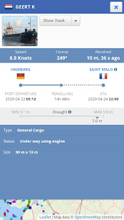 Ship Tracker - AIS Marine Radar & Vessel Tracker