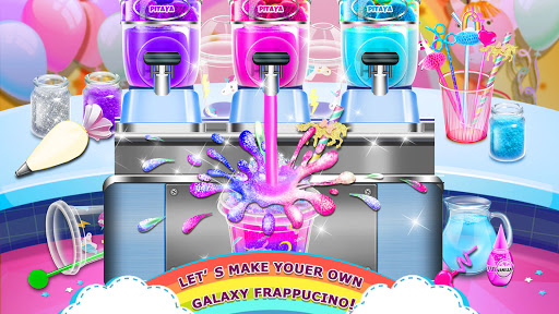 Rainbow Ice Cream - Unicorn Party Food Maker 1.6 screenshots 2