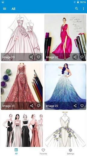 Creative Fashion Design Flat Sketch Ideas  Screenshots 15