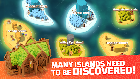 Idle Islands Empire: Building Tycoon Gold Clicker Mod Apk 1.0.7 3
