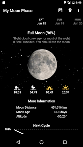 My Moon Phase Pro - Moon, Golden Hour & Blue Hour! 3.3.0 (Paid) (SAP)