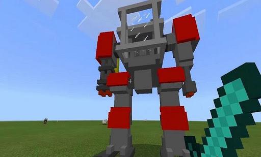 Defender Robot Mod for MCPE 4.4 screenshots 1