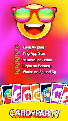 Card Party! Uno Online Games with Friends Family  screenshots 5