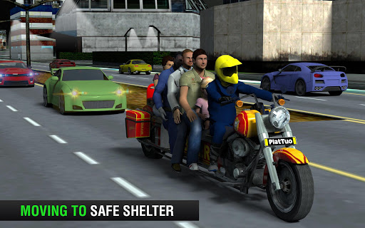 Bus Bike Taxi Driver u2013 Transport Driving Simulator  screenshots 2