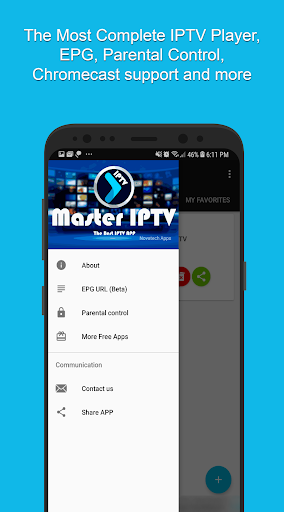 Foto do Master IPTV Player: Best Player with EPG and Cast