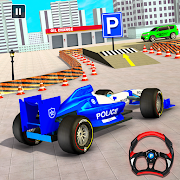 Police Formula Car Parking Simulator New Car Games