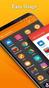 Simple App Launcher – Launch apps easily & quickly MOD APK V5.5.0 – (Latest Version) 1