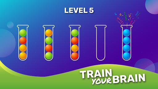 Ball Sort Puzzle - Brain Game Apkfinish screenshots 6