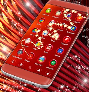 Red Metals Launcher Theme For Pc – Free Download And Install On Windows, Linux, Mac 1