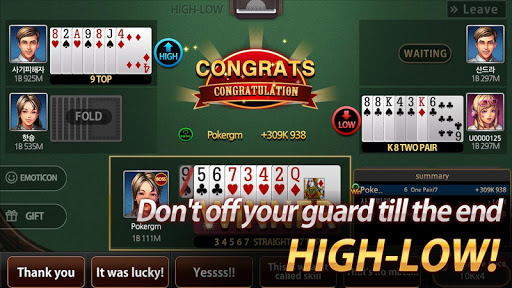 Poker Master - 7poker, High-Low, One Eyed Jack 1.9.1 screenshots 4
