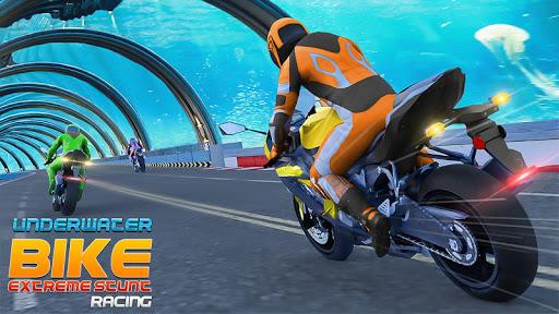 Underwater Bike Extreme Stunt Racing screenshots 1