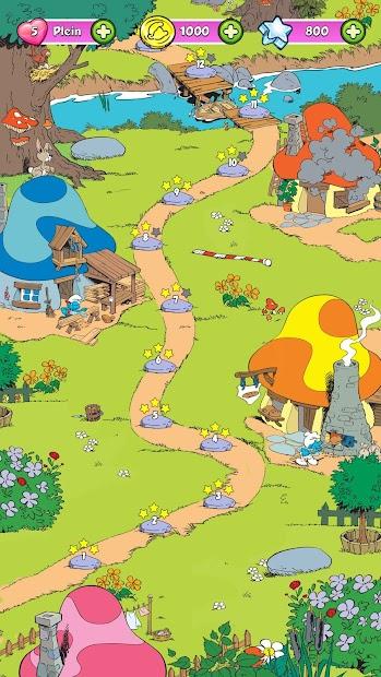Captura de Pantalla 16 de Smurfette's Magic Match para android