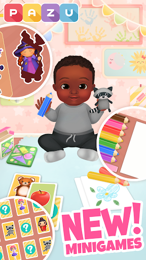 Chic Baby 2 - Dress up & baby care games for kids  screenshots 4