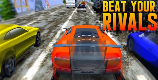 Traffic Car Racing: Highway Driving Simulator  screenshots 7