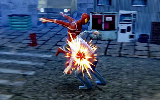 Superhero Rope Iron Ninja Battle Spider Amazing Screenshot 2