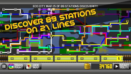 Subway Simulator 2D - city metro train driving sim 1.97 screenshots 2