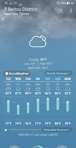 ASUS Weather 5.0.1.31_190709 Screenshots 1