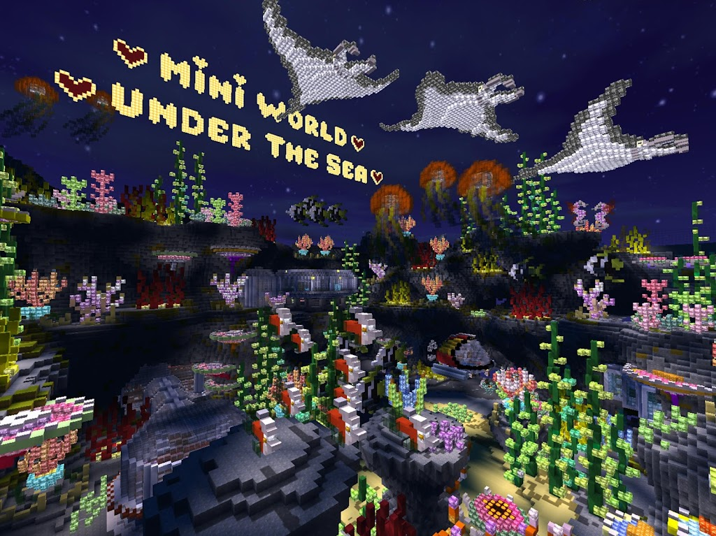 Mini World: Block Art  poster 9