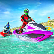 Jet Ski Water Speed Boat Racing