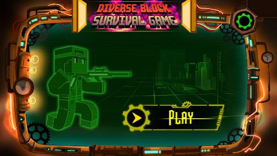 Diverse Block Survival Game 6