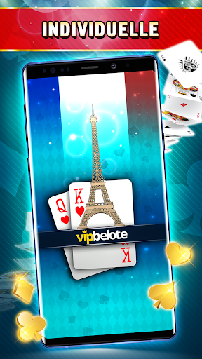 Belote Offline - Single Player Card Game screenshots 1