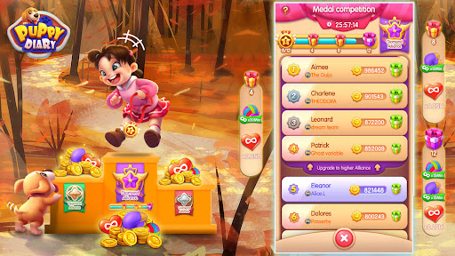 Puppy Diary: Popular Epic match 3 Casual Game 2021 1.0.7 screenshots 19