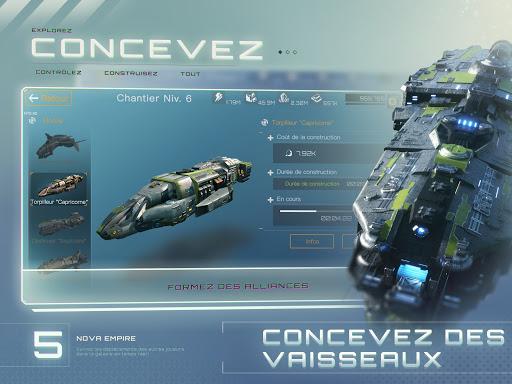 Télécharger Gratuit Nova Empire: Commandant spatial -MMOde stratégie apk mod screenshots 6