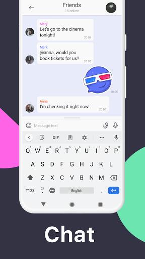 TamTam: Messenger for text chats & Video Calling  Screenshots 3