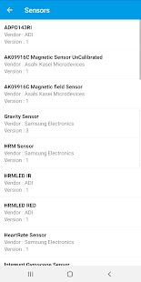 Android System Info - Detailed Android Device Info Screenshot