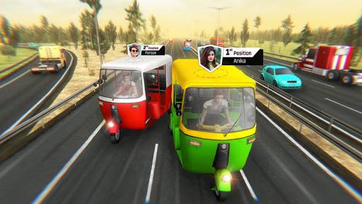Modern Tuk Tuk Auto Rickshaw: Free Driving Games apklade screenshots 2