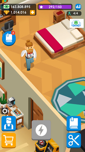 Idle Barber Shop Tycoon - Business Management Game 1.0.1 screenshots 5