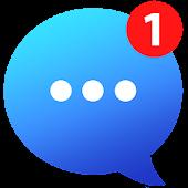 icono Messenger Go para redes sociales, mensajes, feed