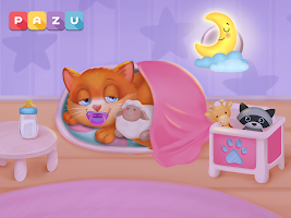 Cat game - Pet Care & Dress up Games for kids