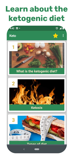 Foto do Keto diet, low carb and ketogenic for beginners