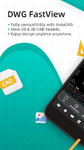 DWG FastView-CAD Viewer & Editor (MOD, Premium) v4.1.2 1