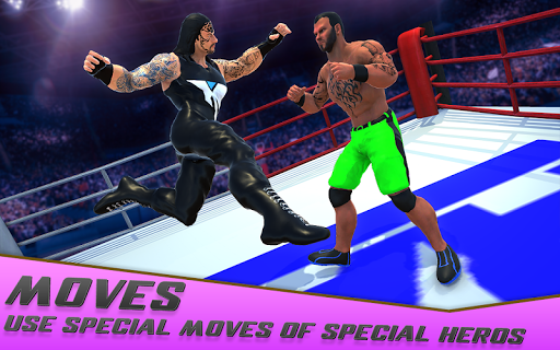 bodybuilder wrestling fight - world fight rumble screenshot 2