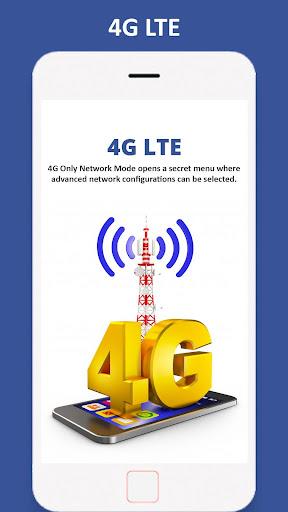 4G LTE Only - 4g LTE Mode  screenshots 1