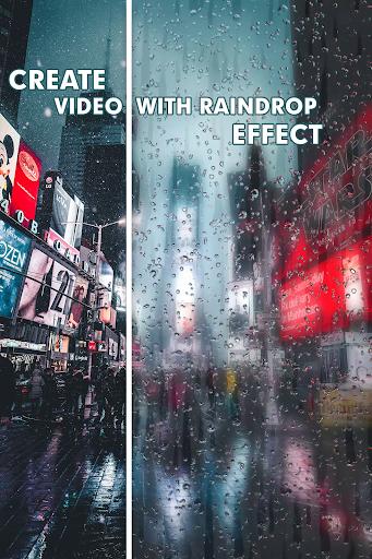 Rain Effect Video Maker and live wallpaper 0.41 screenshots 1